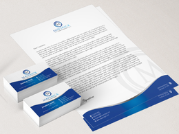 Design unique and  high quality business card + letterhead with 2 concepts