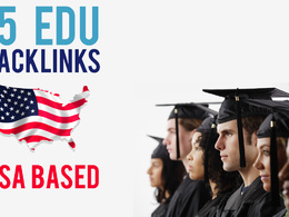 Build 15 US based edu backlinks, excellent for website and youtube seo
