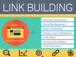 Manual Linkbuilding (SEO)  on high PR sites to boost rankings of  your website