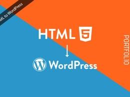 Convert HTML to WordPress Theme