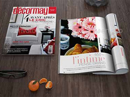 Design corporate 8 page magazine, catalog, brochure in 24 hours