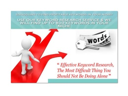 Do keyword research , SEO keyword research