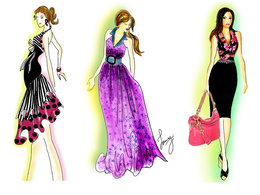 Create a stunning Fashion Illustration