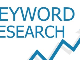 Do in depth keyword research for your product or service