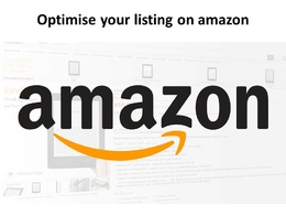 Optimise your listing on Amazon and/or created Advertising on Amazon