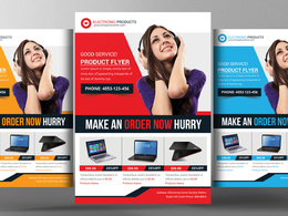 Design a compelling flyer, postcard, business card etc