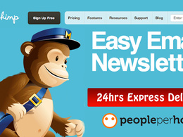 Design an eye catching editable & responsive MailChimp template