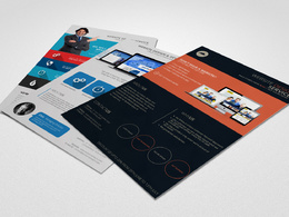 Design a stunning and professional flyer