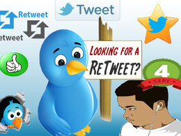 Give you 2000 twitter retweets and 2000 favorites within 24h