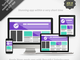 Create iOS ( iPhone, iPad ) app for your responsive website