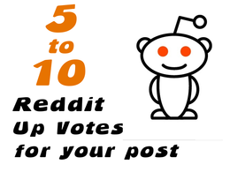 Add 5 to 10 Up Votes to Your Article on Reddit