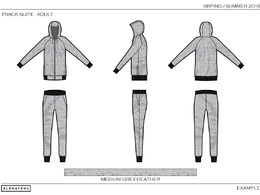 Create Fashion Design Technical Drawings / Cad / Spec / Fashio / Sportswear /