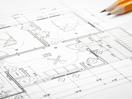 Create a 2D Autocad architectural drawing