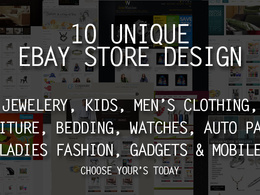 10 ready to install ebay store designs within two working days. choose any of these