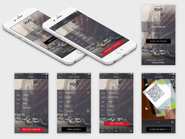 Do amazing UI for mobile ui design android ui design and iphone ui design