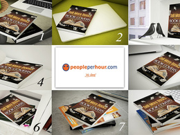 Convert your 2D book cover into 3 Stunning Realistic 3D Images