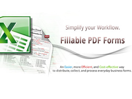 Creating editable PDF with data saving in Excel