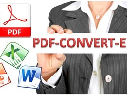 Convert PDF to Word, Excel, PowerPoint plus Editing Add-On Service