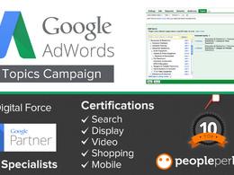 Offer 10 Hour Adwords Management
