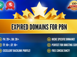 Provide 2 EXPIRED DOMAINS with high metrics (PA,DA,TF,CF) for your PBN SEO