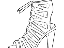 Sketch your Shoe Design in 3 Quarter View