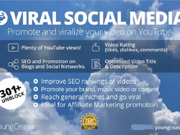 Get any video Youtube viral,Social Media promotion and SEO