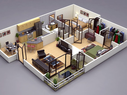 Create a 3D Floor Plan