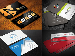 Create an amazing and unique businesscard in 12 hours