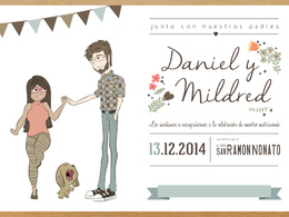 Make an invitation wedding design