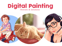 Create 1 digital painting of any kind
