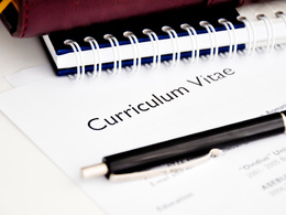 Review your CV and produce a written report to recommend improvements