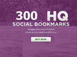 300 SOCIAL SIGNALS SEO BACKLINKS