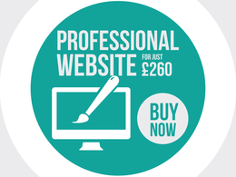 Design & build a professional Website