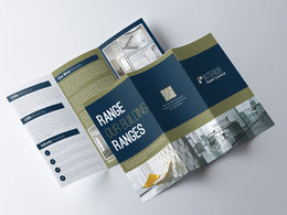 Design trifold Brochure/Leaflet