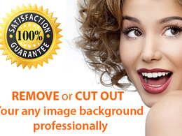 Remove or cut out your image background professionally just 12 hours before