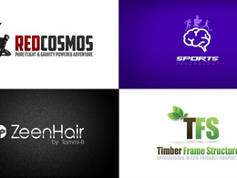 Design a Stunning Premium  Logo Unlimited Concepts & Revisions