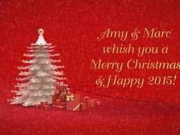 Create a custom Christmas Card Greetings video intro