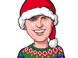 Make a Christmas Caricature