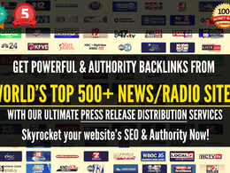Distribute Press Release To 500+ top TV/Radio News sites like ABC, NBC, CBS, FOX!