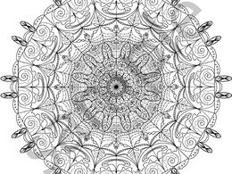 Design a unique original mandala design.