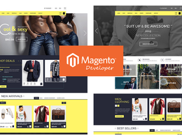 Design & build a great looking mobile friendly & unique Magento Ecommerce website