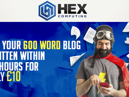 Write a 600 word SEO Blog or Article within 24 hours