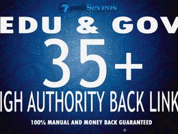 Build High Authority Edu and Gov SEO Dofollow Backlinks