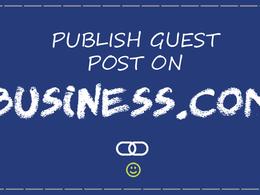 Publish a Guest Post on Business.com