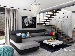 Create 1 high quality interior renderings
