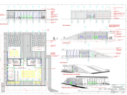 Draught existing room and building plans up to 300sqr.m.