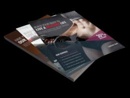 Design a custom, creative, corporate Flyer/Leaflet
