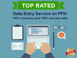 Do any kind of data entry work for 1 hrs data research / extraction / data entry etc