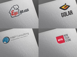 Logo design with 3 revisions
