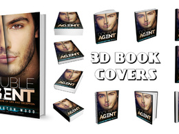 3D Book Covers ideal for posting on your blog, website or social media